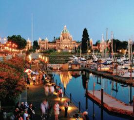 Valsafari och Vancouver Island