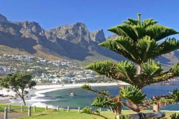 Ankomst Kapstaden