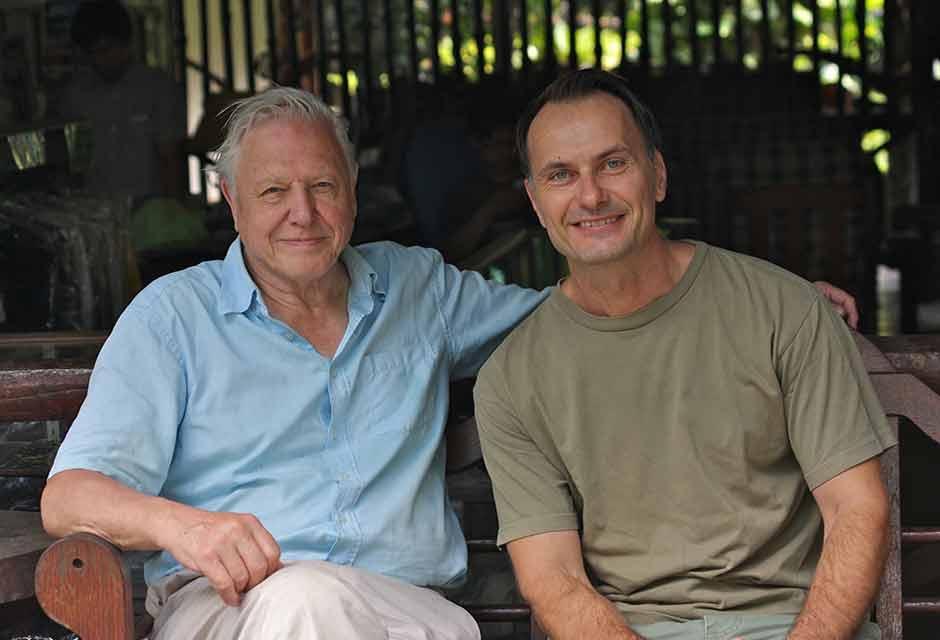 Magnus Pihl och Attenborough