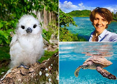 Reseafton Seychellerna med Lottie Knutson
