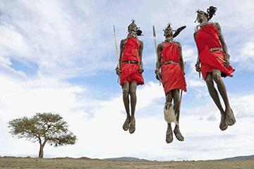 Safari i Masai Mara naturreservat
