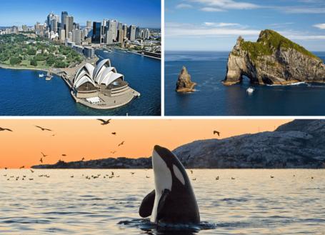 Reseafton Göteborg | Oceanien, Kanada & Alaska