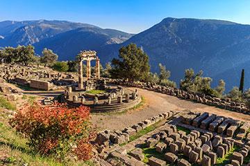 Grekisk mytologi på Delos