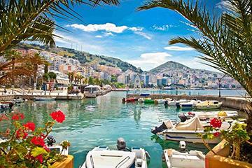 Albanska rivieran och ankomst till Grekland
