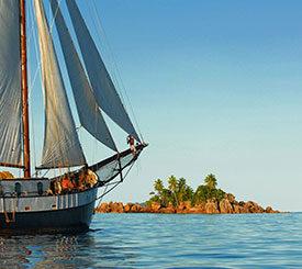 Seychellerna naturkryssning med segelbåt