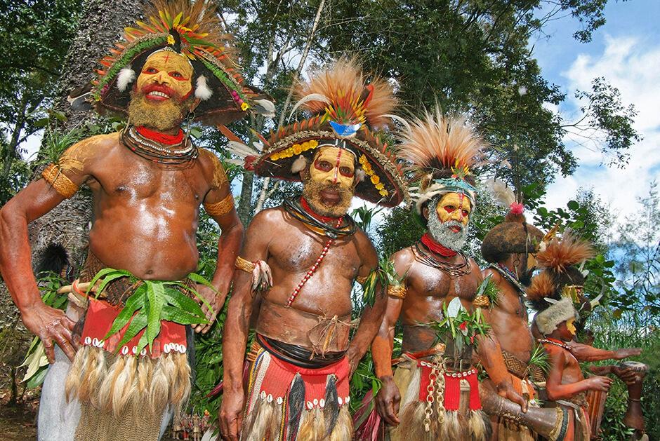 Papua Nya Guinea resor