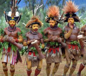 Hulifolket i Papua Nya Guinea