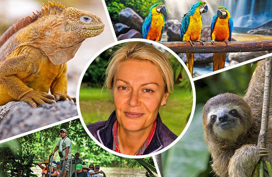 Amazonas och Galapagos